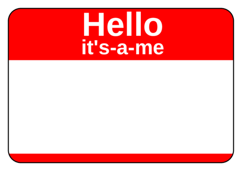 Name Tag Label Templates.