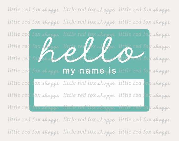 Hello Name Tag Clipart, Name Tag Clip Art Teacher Class Frame.