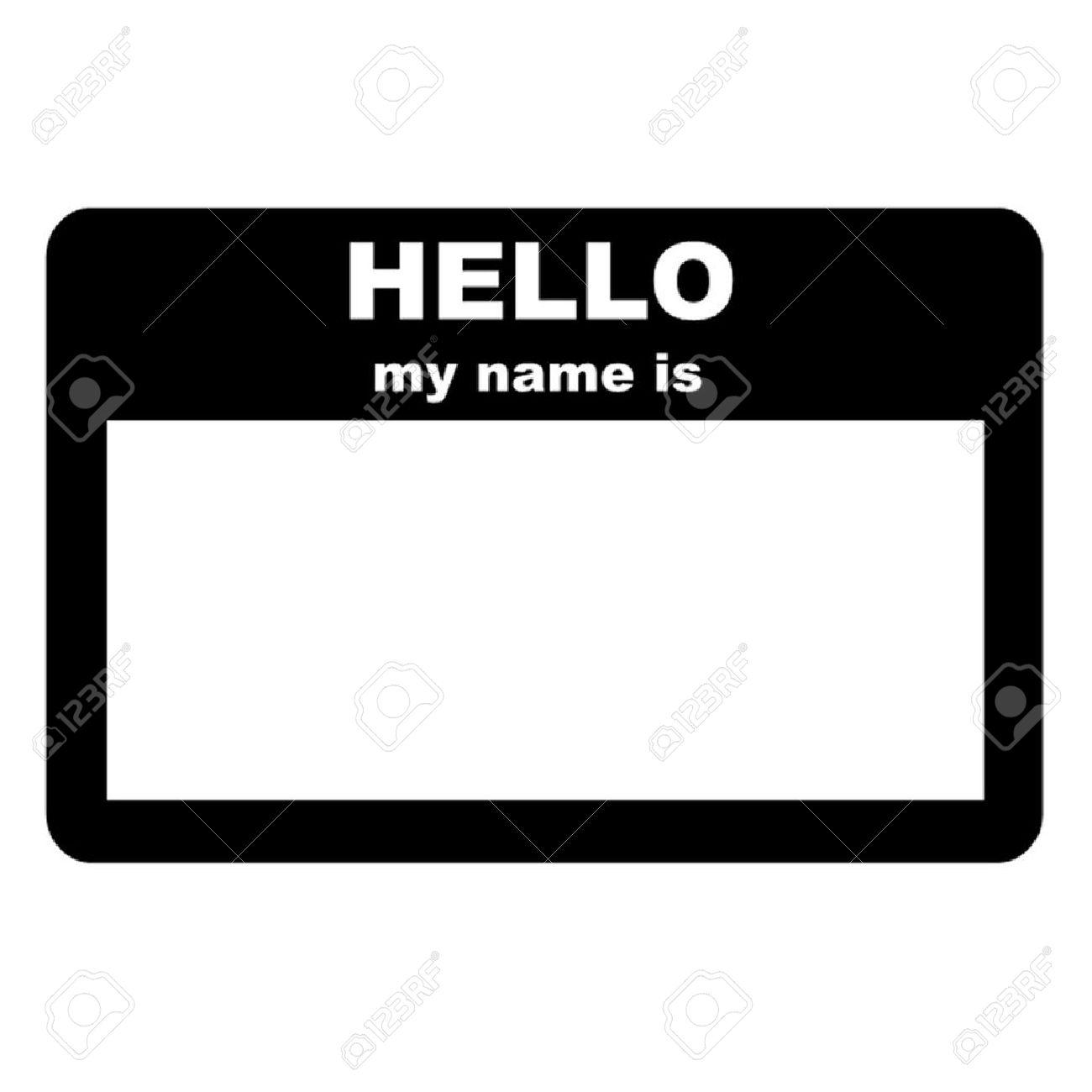 Name tag.