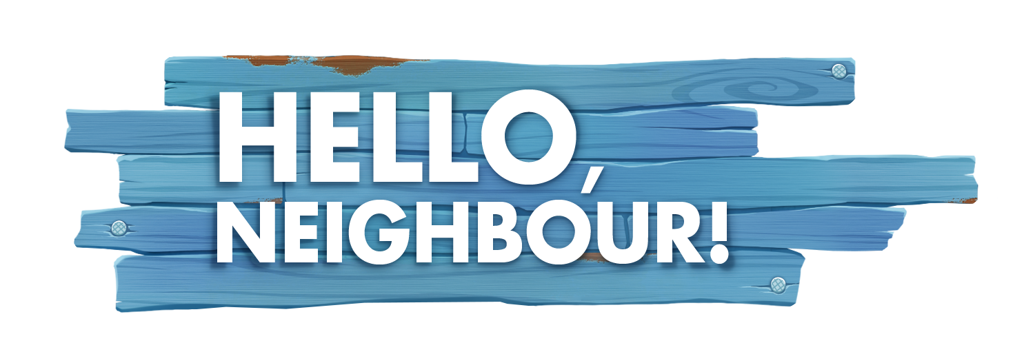 Hello neighbor Logos.