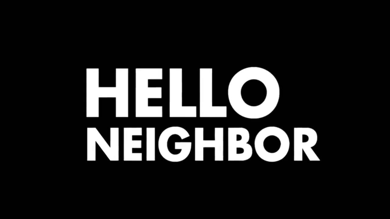 Hello Neighbor Announcement Trailer.