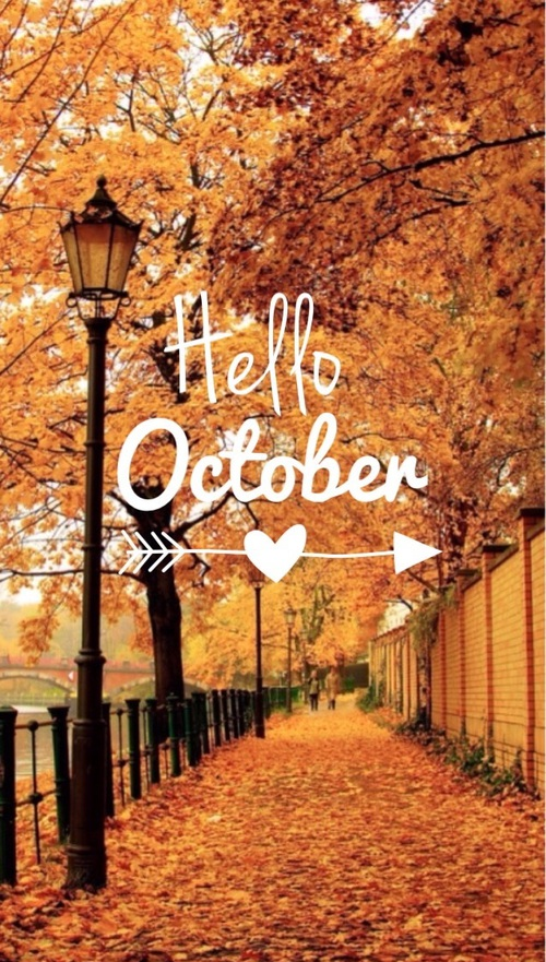 Hello october tumblr images.