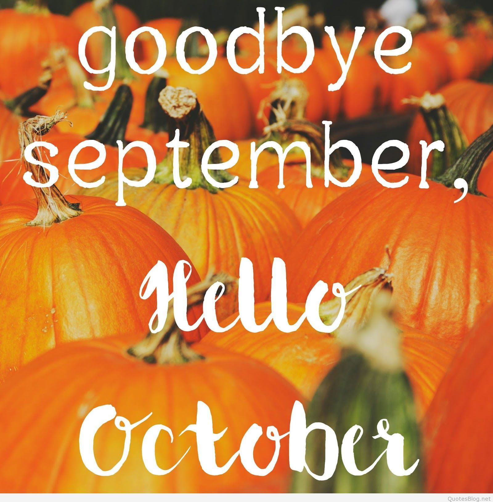 Hello October Wallpapers.
