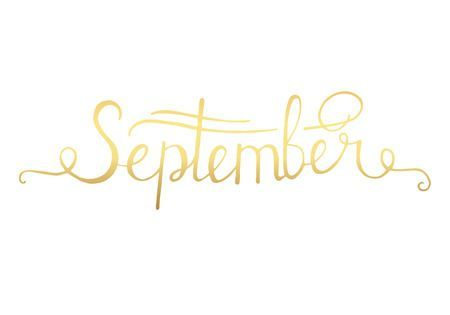 Hello September Clipart Images.