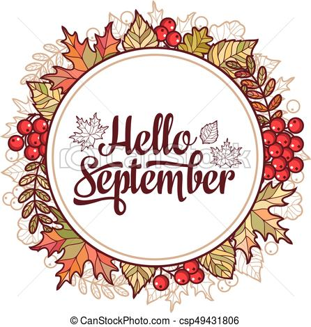 Hello september clipart 3 » Clipart Station.