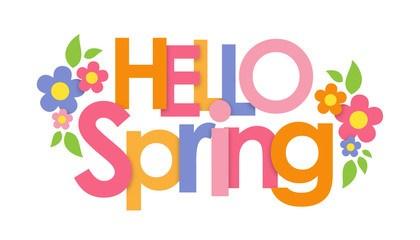 Hello spring clipart 2 » Clipart Portal.