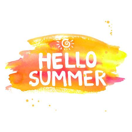 22,034 Hello Summer Stock Vector Illustration And Royalty Free Hello.