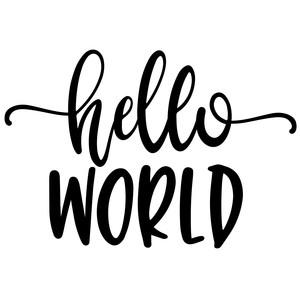 Hello world!.