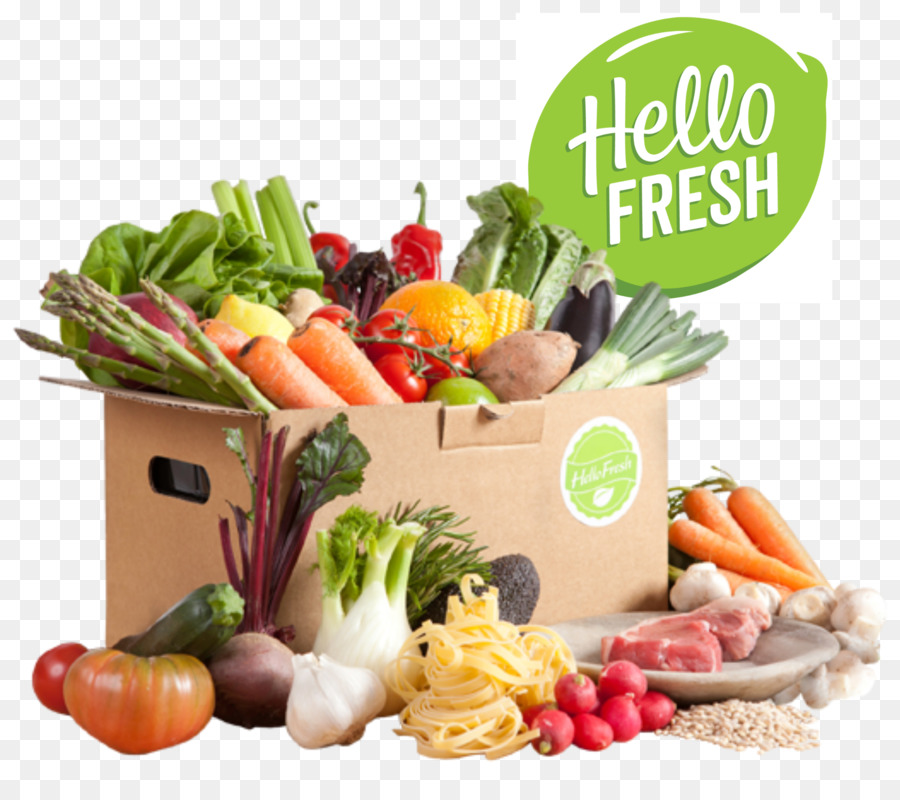 Organic food Meal delivery service HelloFresh.