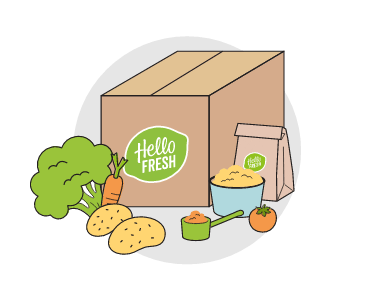 Get creative in the kitchen with a HelloFresh food box.