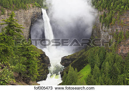Stock Photo of Canada, British Columbia, Wells Gray Provincial.