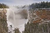 Stock Photograph of Helmcken Falls, Wells Gray Provincial Park.
