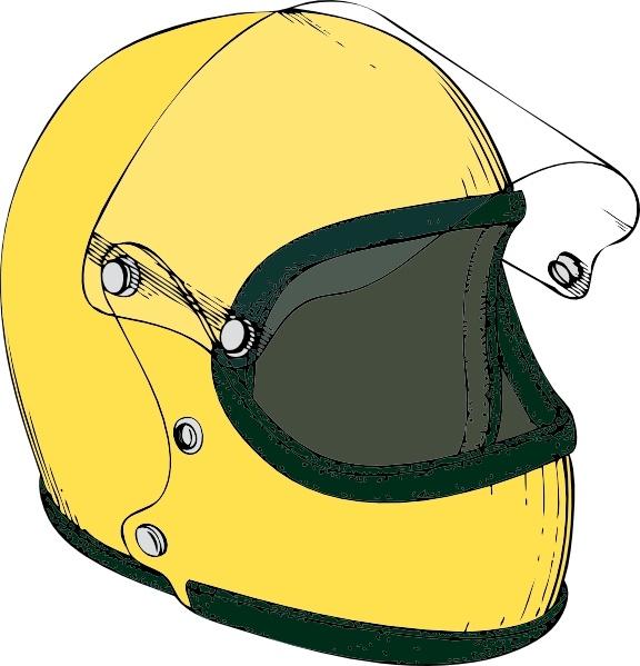 Crash Helmet clip art Free vector in Open office drawing svg ( .svg.