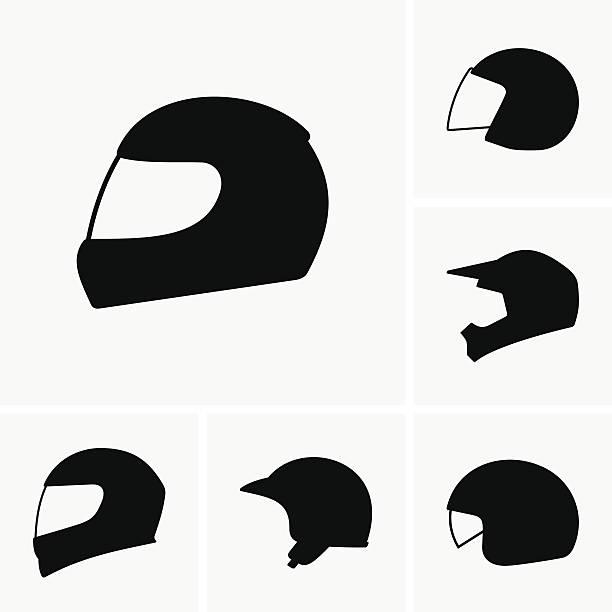 Best Motorcycle Helmet Illustrations, Royalty.