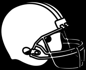 Football black and white football helmet clip art black and white.