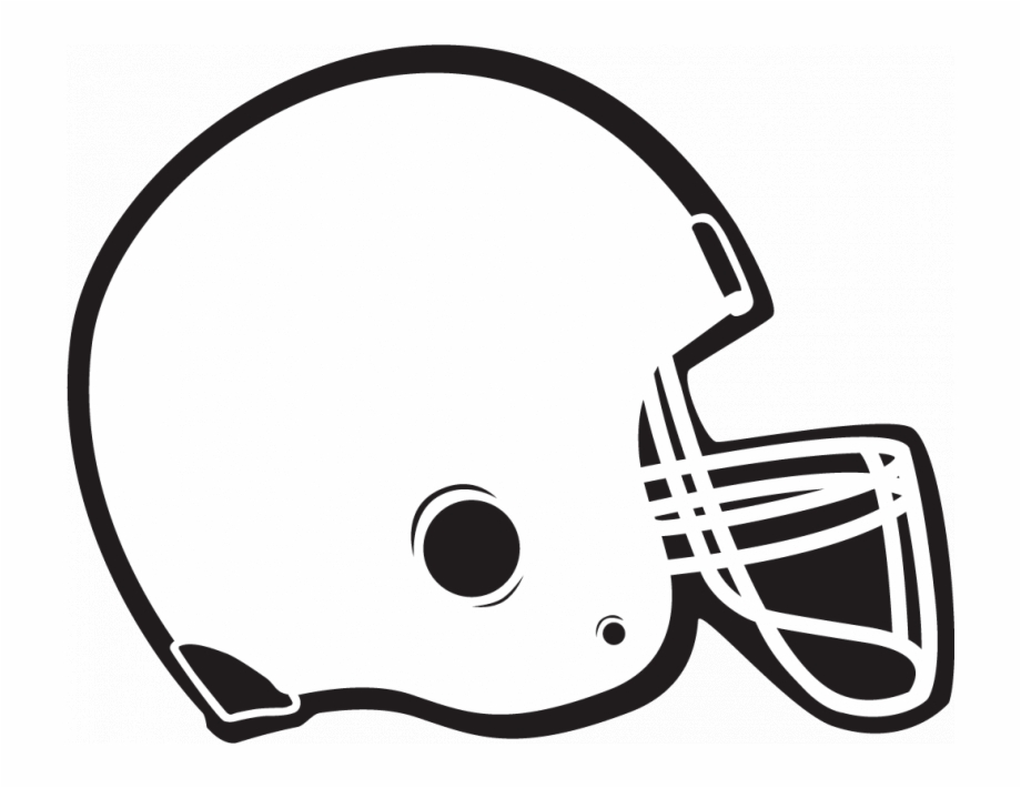 White Football Helmet Clipart , Png Download.