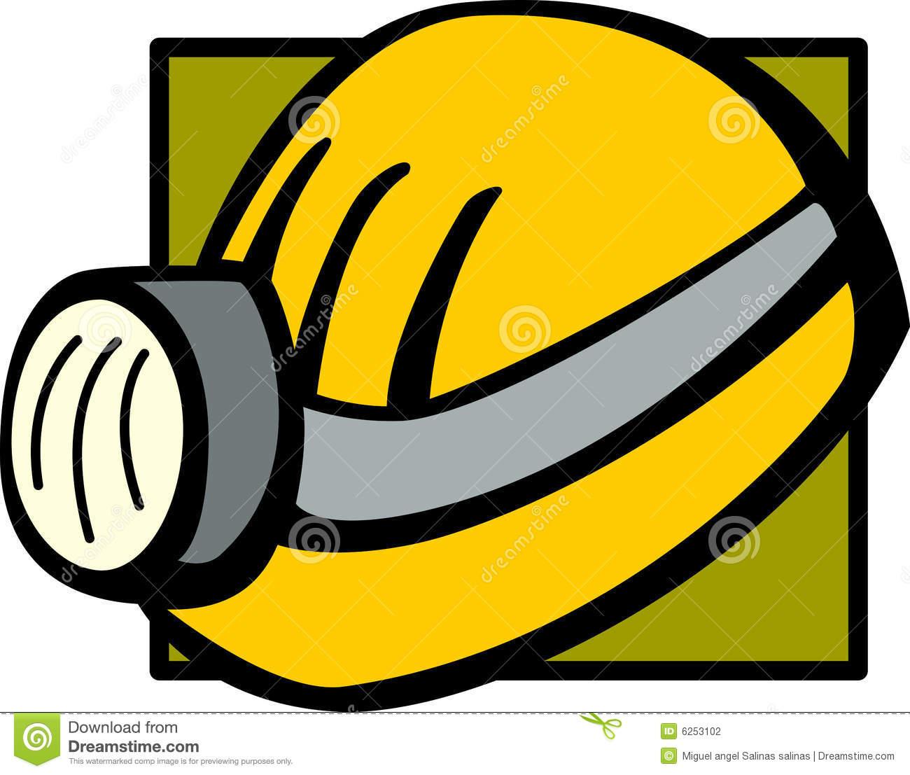 Helmet lamp clipart #16
