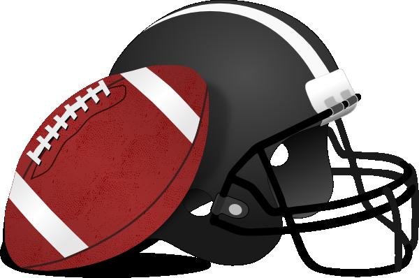 Football Helmets Clipart.