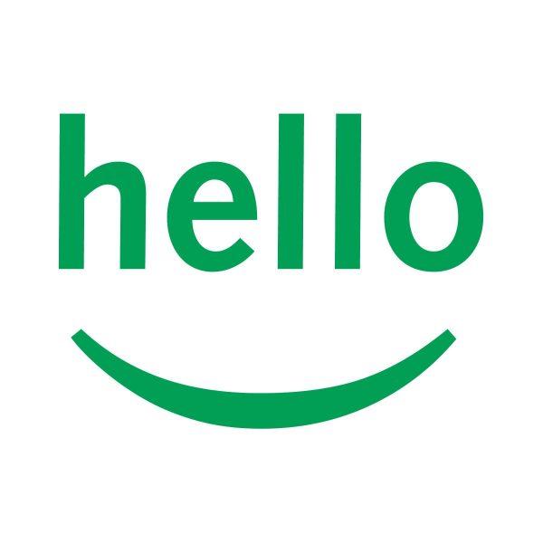 Clip Art Hello Smile.