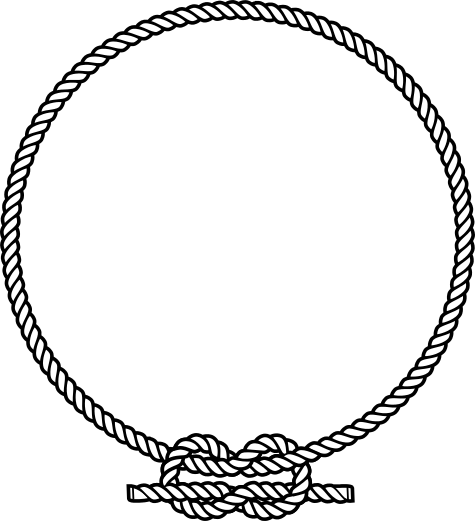 Free rope vector clipart.