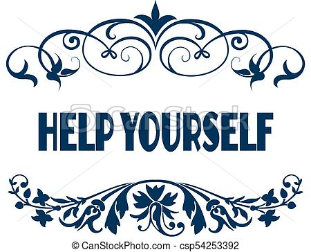 Help yourself Illustrations and Stock Art. 821 Help yourself.