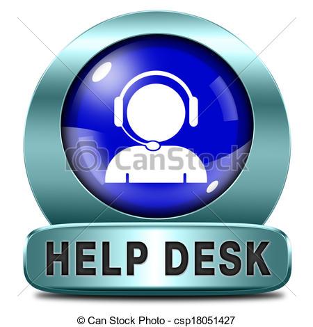 Help desk clipart.