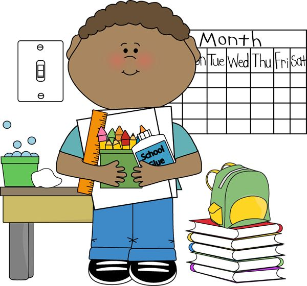 Substitute student helper clipart.