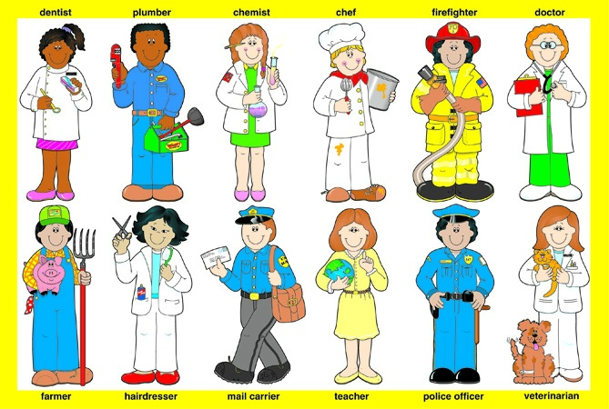Helpers clipart.