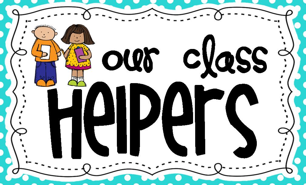 Classroom helpers clip art.