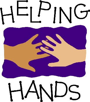 Helping Hands Clipart.