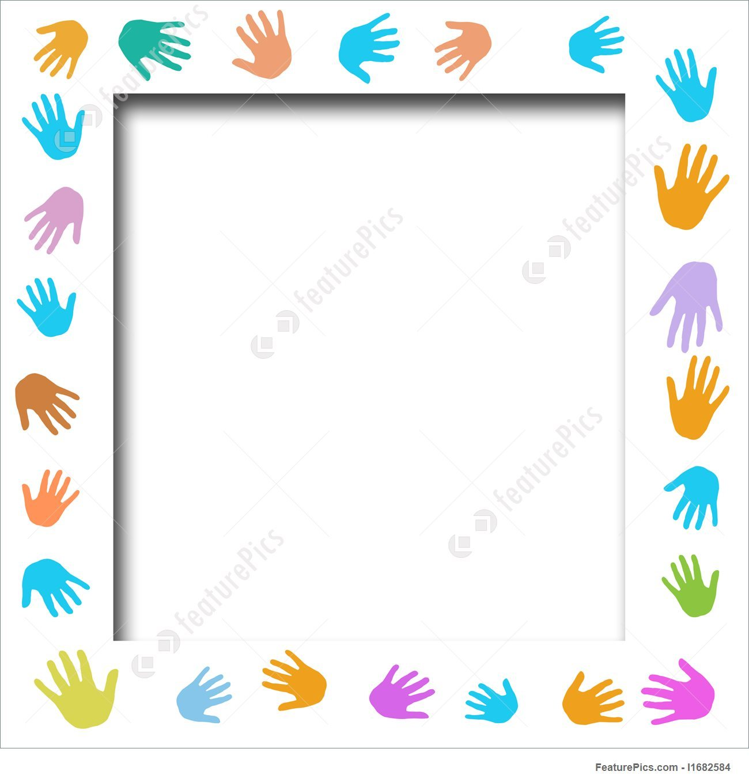Helping hands border clipart 7 » Clipart Portal.