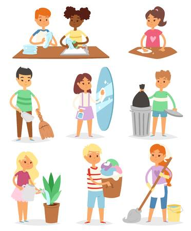 5,454 Helping Children Cliparts, Stock Vector And Royalty Free.
