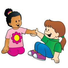 Children Helping Others Clipart.
