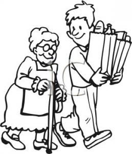 Serving Others Clipart.