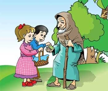 helping the needy clipart #8