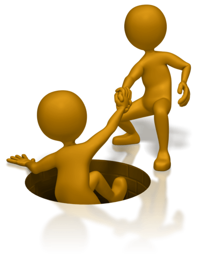 Helping someone up clipart » Clipart Portal.