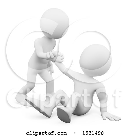 Helping someone up clipart 4 » Clipart Station.