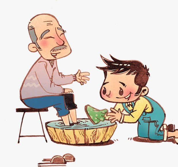 Child helping elderly clipart 6 » Clipart Portal.