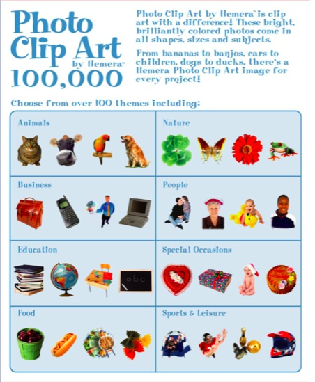 Photo Clip Art 100,000.