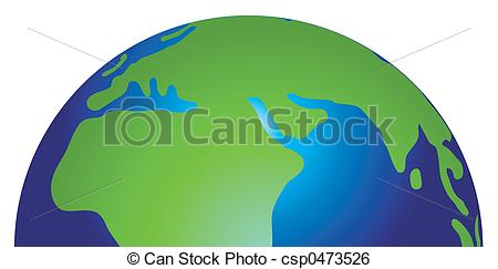 Hemisphere Clip Art.