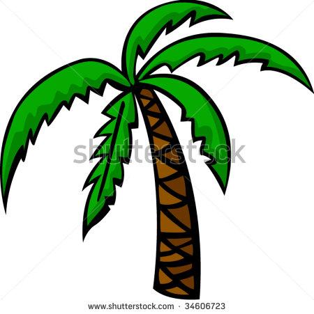 Palm Tree Stock Vector 98573804.