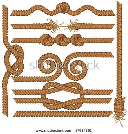 Hemp Rope Stock Vectors, Images & Vector Art.