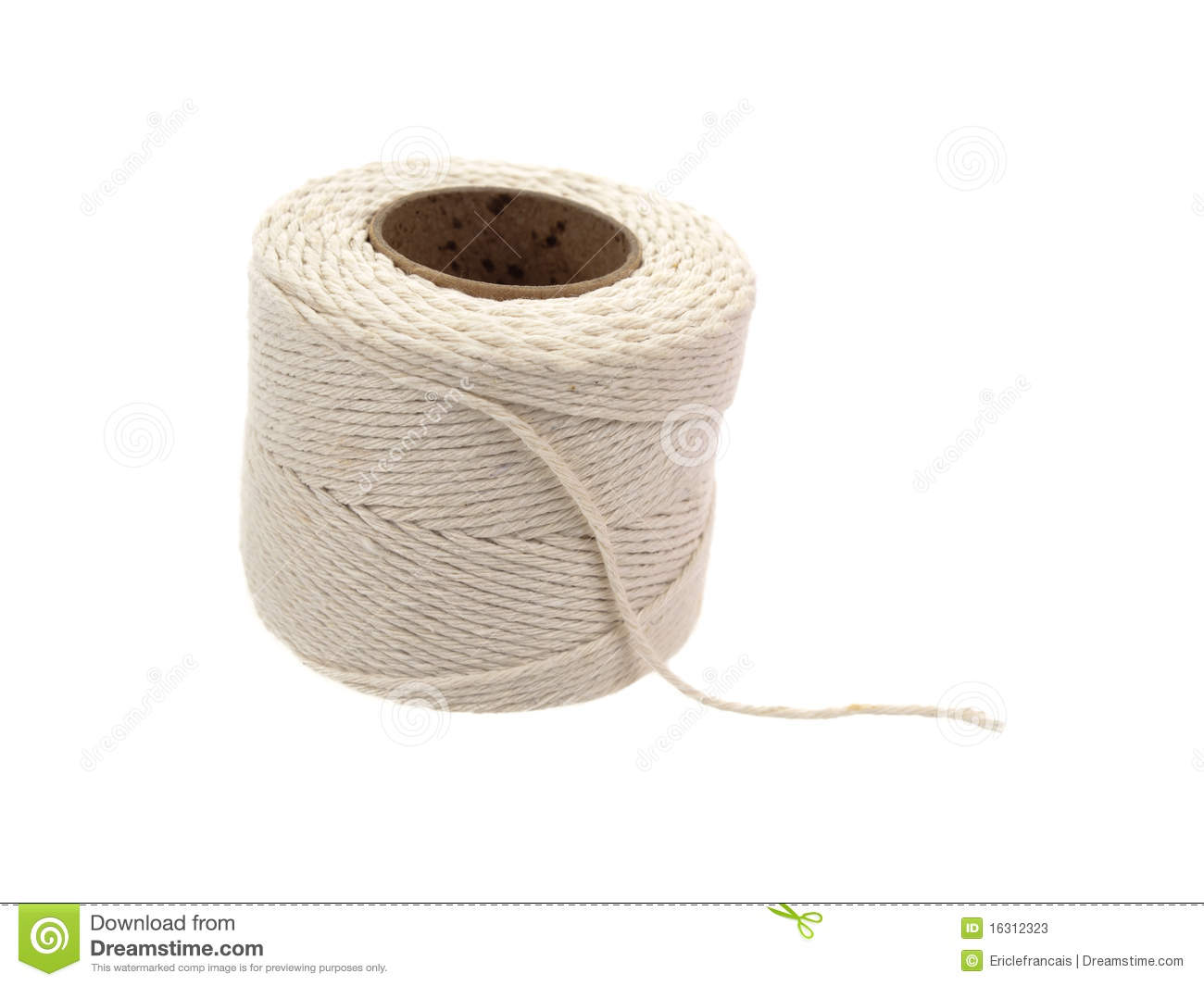 Roll Of Hemp String Stock Photos.