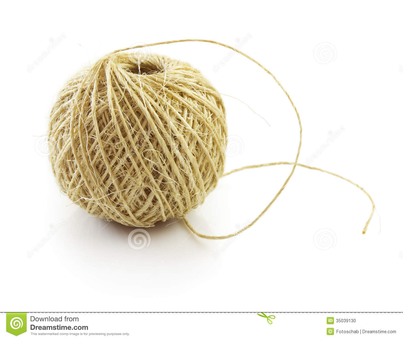 Jute Twine Stock Images.