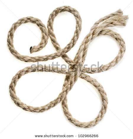 Jute Rope Stock Photos, Royalty.