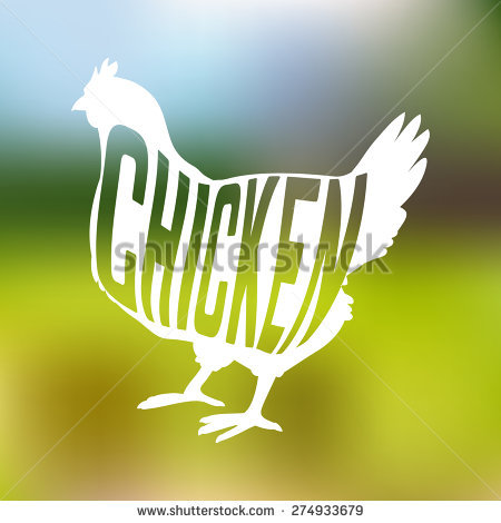 Chicken Silhouette Clipart Stock Photos, Royalty.