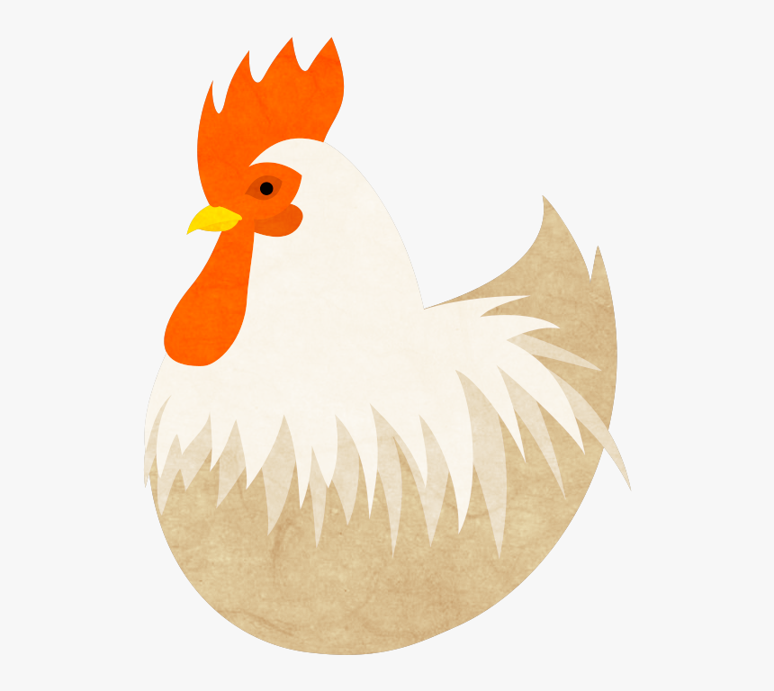Transparent Hen With Eggs Clipart.