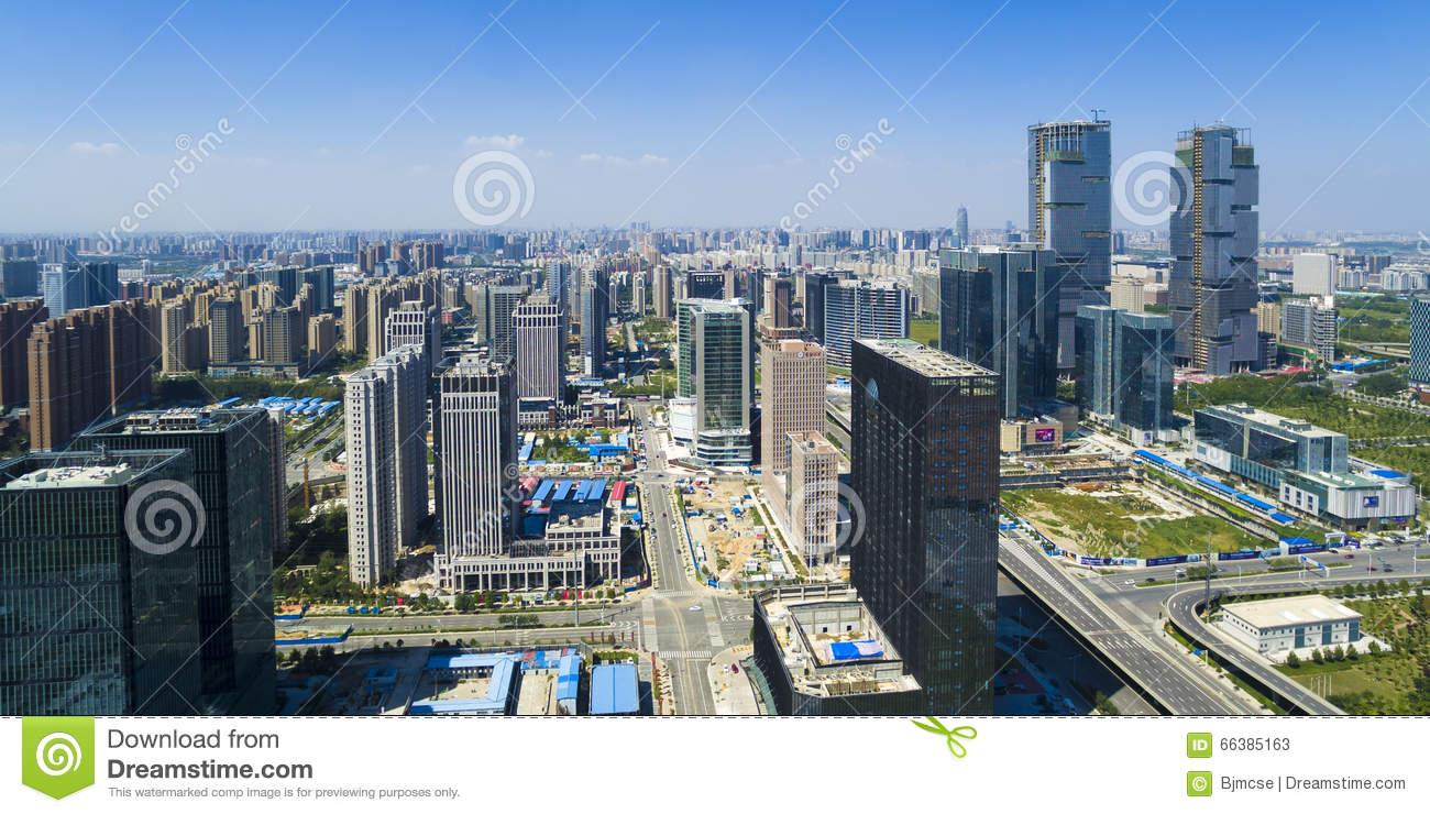 Zhengzhou Henan China Stock Photo.