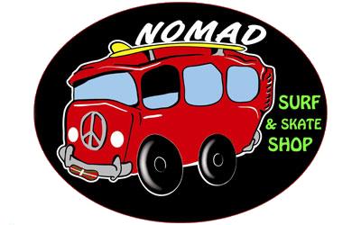 Nomad Surf Skate Shop.