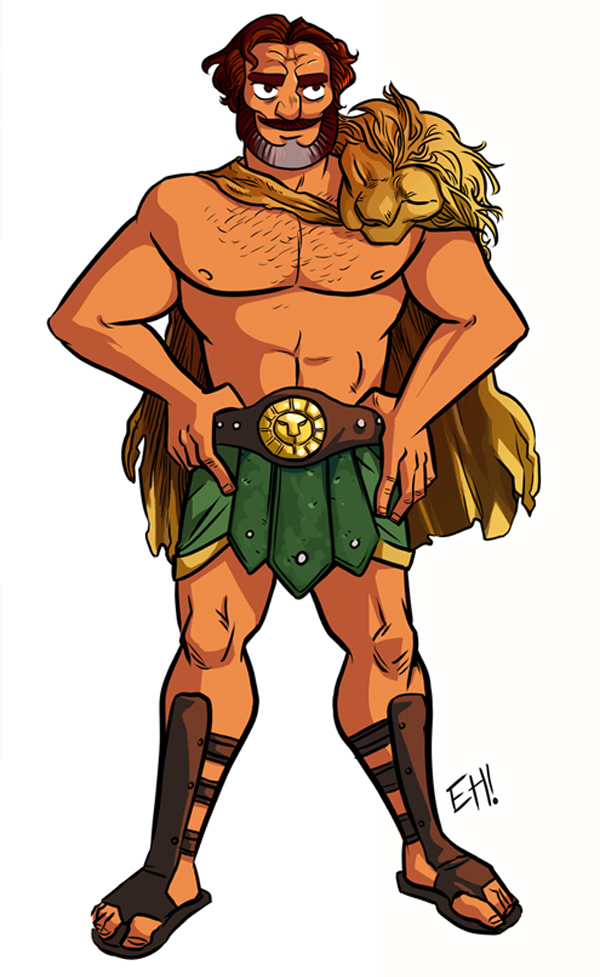 Clipart Images Of The Greek God Hercules.